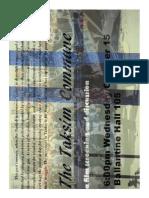 Taksim Commune Poster