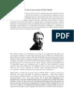 Teoría de la burocracia de Max Weber