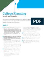 BigFuture College Planning 9th 10th Graders