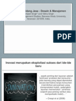Innovation in services- Design and management.pptx