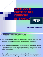 Cap Fuentes Del Derecho Internacional
