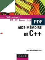 Aide-Mémoire de C++