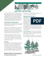 Sample Plot Vegerable Garden PM870A