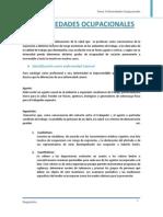 Diagnóstico - Enfermedades Ocupacionales Trabajo Final