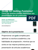 GUÍA PARA PUBLICAR