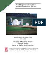 Science Based OrganicFarming2010