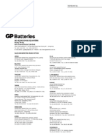 GP 2700mAh Series