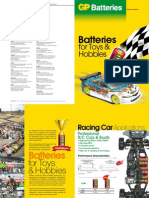 GP Toy and Hobby Batteries
