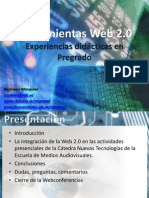 Experiencia Web 2 UNEFM ADI
