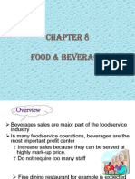 Chapter 8 Beverage Management