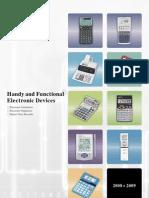 Sharp Calculators & Organizers