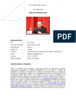 CV Prof. Dr. Adolfo Vasquez Rocca by Vásquez Rocca, Adolfo