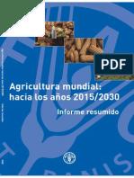 Agricultura Mundial 2015 2030 FAO