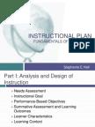secondary education class instructional plan- shall