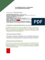 Aspectos Administrativos y Financieros Programas en Exte