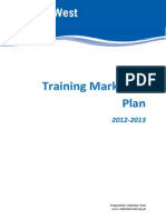 Marketing Plan Training