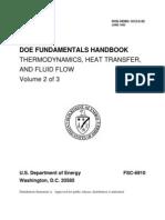 Doe Fundamentals Handbook Thermodynamics Heat Transfer and Fluid Flow Volume 2 of 3