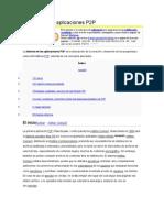 Historia de Las Aplicaciones P2P