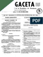 Ley Organica Del Colegio de Psicologos