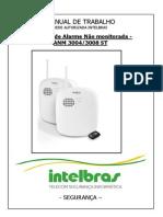 MANUAL DE TRABALHO - Central de Alarme Não monitorada - ANM 3004 3008 ST 20111114162955