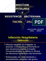 Infeccion Intrahospitalaria y Resistencia Bacteriana[1]