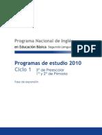 Programa Ciclo 1