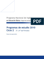 Programa Ciclo 2
