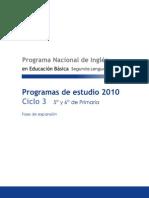 Programa Ciclo 3