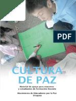 Cultura de Paz. Uruguay