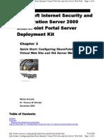 Isa Server Deploys Guide