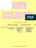 GROWTH ACCELERATORS BUSINESS GROWTH STRATEGIES