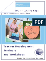 Teacher Development Catalogue