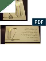 Tarjeta Graduacion
