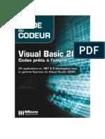 Visual Basic 2005 - Codes prets à l'emploi