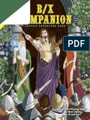 D&D BX Companion   Magic (Paranormal)   Elf (Dungeons & Dragons)