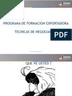 Tecnicas de Negociacion Peru