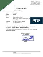 PT Wirataman Letter of Interest