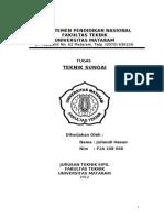 laporan teknik sungai