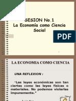 1 - Tema 1 - La Economia Como Ciencia Social