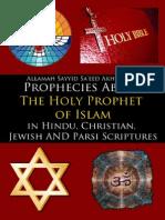 Prophecies About Holy Prophet in Hindu, Christian, Jewish n Parsi - Allamah Sayyid Sa'eed Akhtar Rizvi - XKP