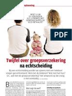 netto-20090509 Twijfel over groepsverzekering na echtscheiding