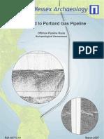 Blandford to Portland Gas Pipe