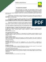 UNIDADES PREFABRICADAS - Especificaciones