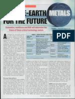 Rare-earth Metals for the Future