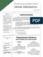 Boletim MPI n.º 9 - Fevereiro de 2007