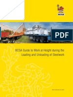 BCSA Guide to Work at Height During the Loading and Unloading of Steelwork