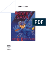 Ender's Game Book Report