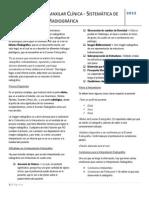 Radiología Dentomaxilar Clínica 2012 - Clase 23 - Sistemática de la Interpretación Radiográfica