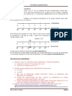 Escalas Semilog en Geogebra y Graphmatica