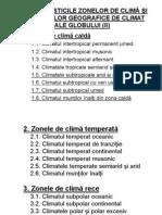 Curs 12 Zone de Clima Si Tipuri Geografice de Climat (II) 2013